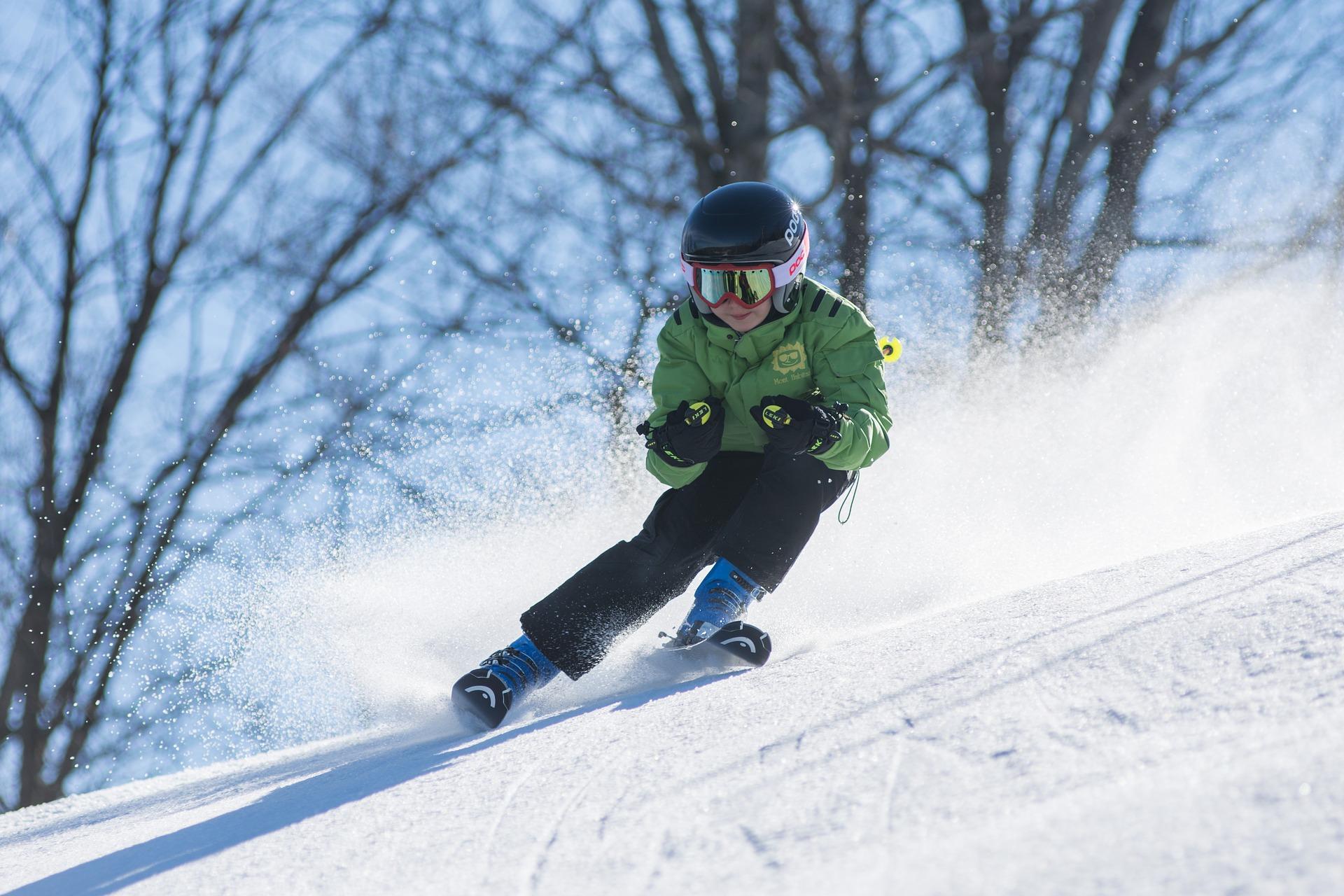 radost z lyžování